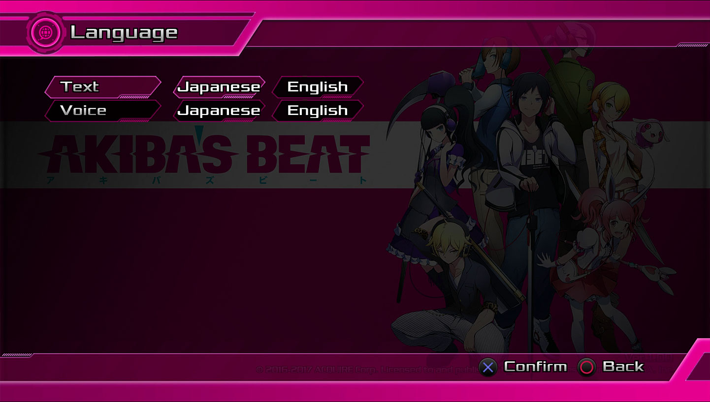 Akiba's Beat - Real Choices On How To Play Image 1